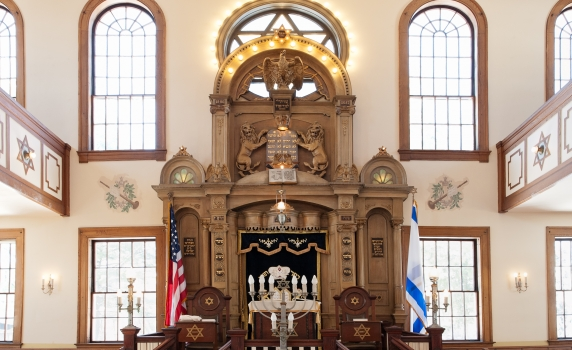 sanctity of a shul
